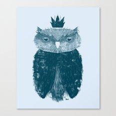 Owl King Canvas Print