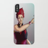 hunter x hunter iPhone & iPod Cases featuring Hisoka - Hunter x Hunter by DocLew