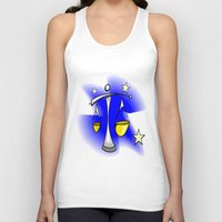 astrology Tank Tops featuring Astrology, Aquarius by Karl-Heinz Lüpke