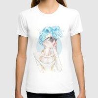 sydney T-shirts featuring Sydney Teal by Daniel Fernández