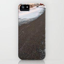 Winding Winter Road iPhone Case