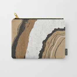 Gold Agate Carry-All Pouch
