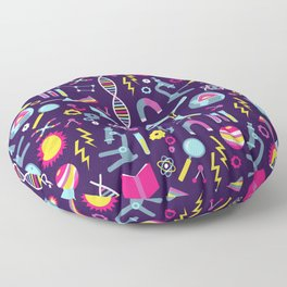Science Studies Floor Pillow