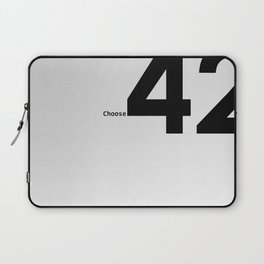 Choose 42 for your Towel Day Laptop Sleeve