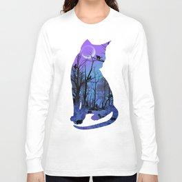 CAT MOON Long Sleeve T-shirt