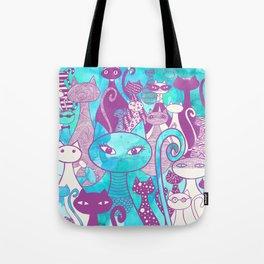 Cat Family II Tote Bag