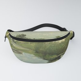 Summer Day By Johan Hendrik Weissenbruch   Reproduction Fanny Pack
