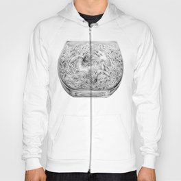 Two Lost Souls Swimming In A Fish Bowl Hoody