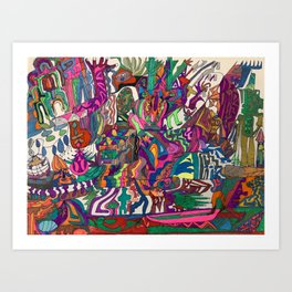 A Time in my Life Art Print