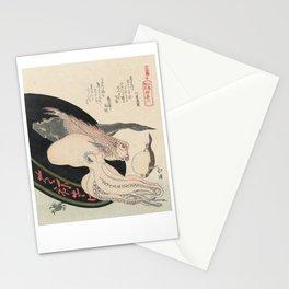 Kanagawa, Totoya Hokkei, c. 1890 Stationery Cards