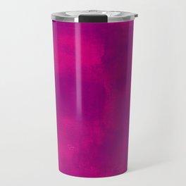 Pink and Purple Abstract Travel Mug