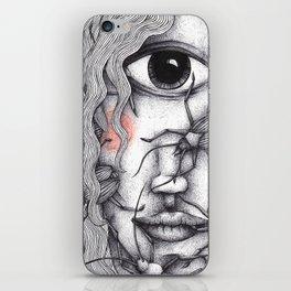 Cyclops Girl  iPhone Skin