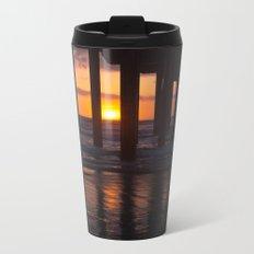 Sunset Captured Metal Travel Mug