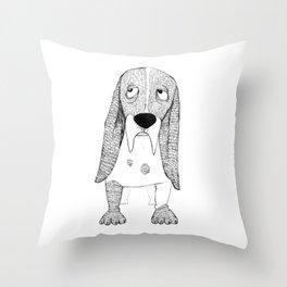 The Dog Throw Pillow