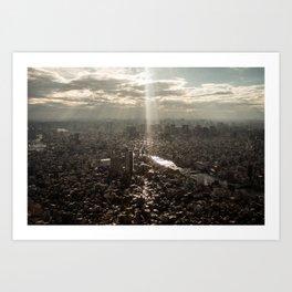 Tokyo View Art Print
