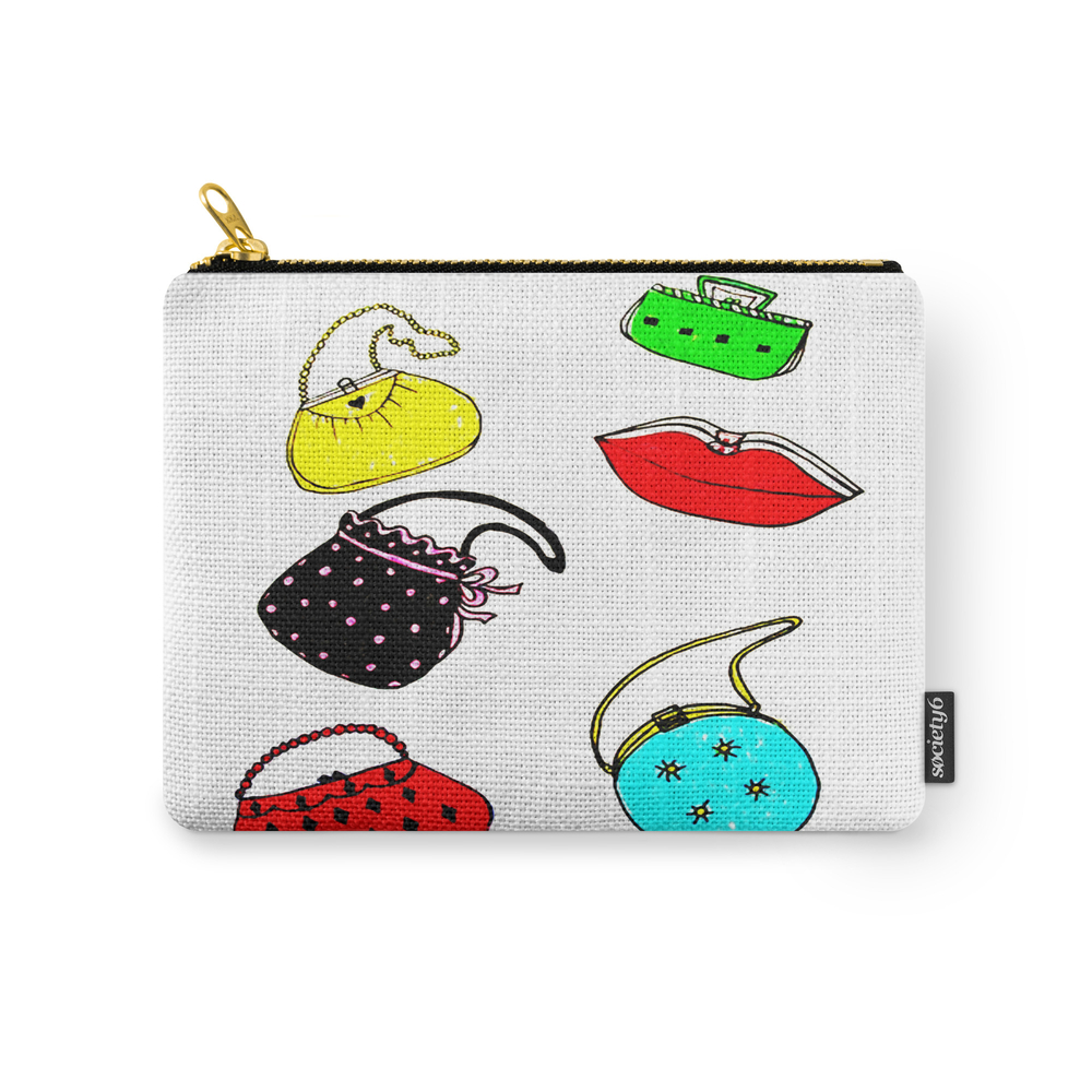 Purses Carry-All Pouch by janetscreativecottage (CAP8538433) photo