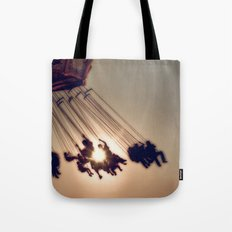 Up In The Air Tote Bag