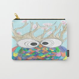 Blossom Tree Owl Carry-All Pouch