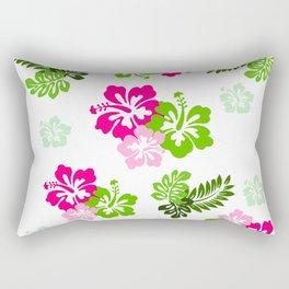 Hawaiian Flowers Rectangular Pillow