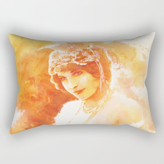 Old memories Rectangular Pillow