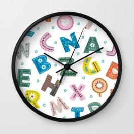 ABC Wall Clock