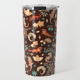 Autumn Geckos Travel Mug