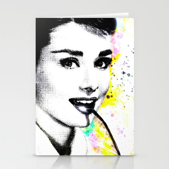 AUDREY HEPBURN Stationery Cards