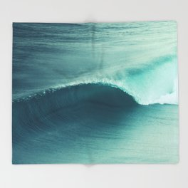 Perfect Wave Throw Blanket