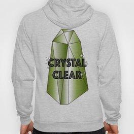 Crystal Clear– Green Hoody