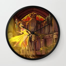 Angel of the Choir Wall Clock