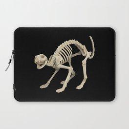 Cat Skeleton Laptop Sleeve