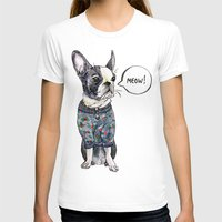 boston terrier T-shirts featuring Boston terrier by Bananastuff