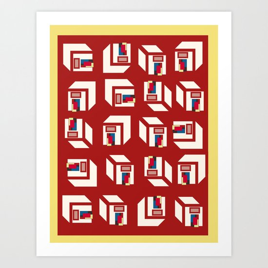 HOMES Art Print