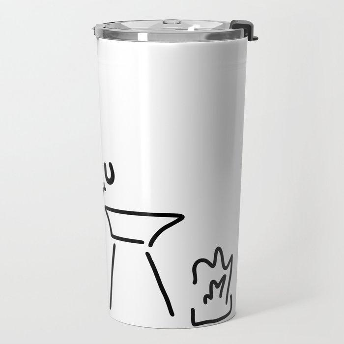 smith hufeisen amboss Travel Mug