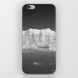 Cloud \ Mountains Under Cover iPhone Skin