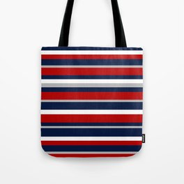 Flag Stripes Tote Bag