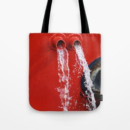 """""""emptying"""" Tote Bag"""