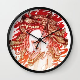 GUARDIAN OF THE HELL GATE Wall Clock