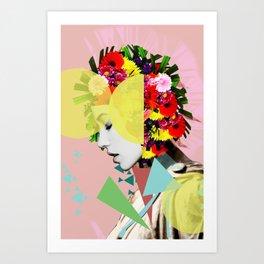 Broken Pride Art Print