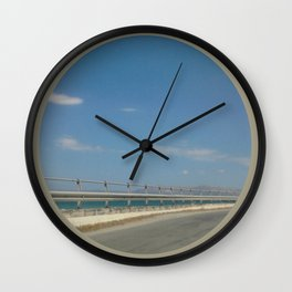 road1.0 Wall Clock