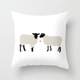 I Miss Ewe Throw Pillow