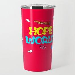 BTS Jhope Hope Worl Design Travel Mug