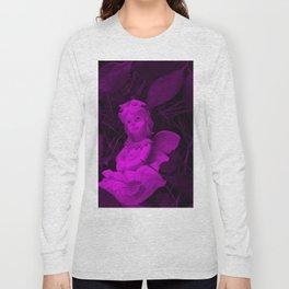 Broken Dreams In Purple Long Sleeve T-shirt