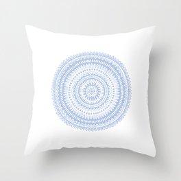 Pattern 1 Blue Throw Pillow