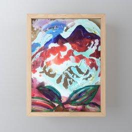 For purple mountain majesties Framed Mini Art Print
