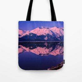 Rose Alpenglow Tote Bag