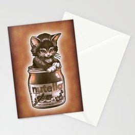Kitten Loves Nutella Stationery Cards