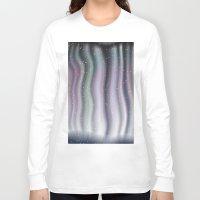 northern lights Long Sleeve T-shirts featuring Northern Lights by Bonnie Phantasm