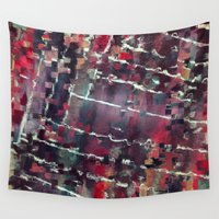 code Wall Tapestries featuring Code by MonsterBrown