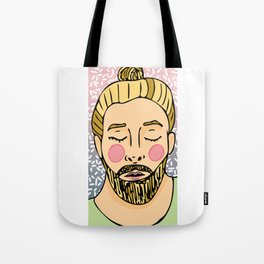 Sweet Beardy Man 4 Tote Bag